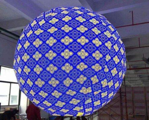 LED екран Сфера, LED Топка