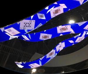 Indoor LED screens creative