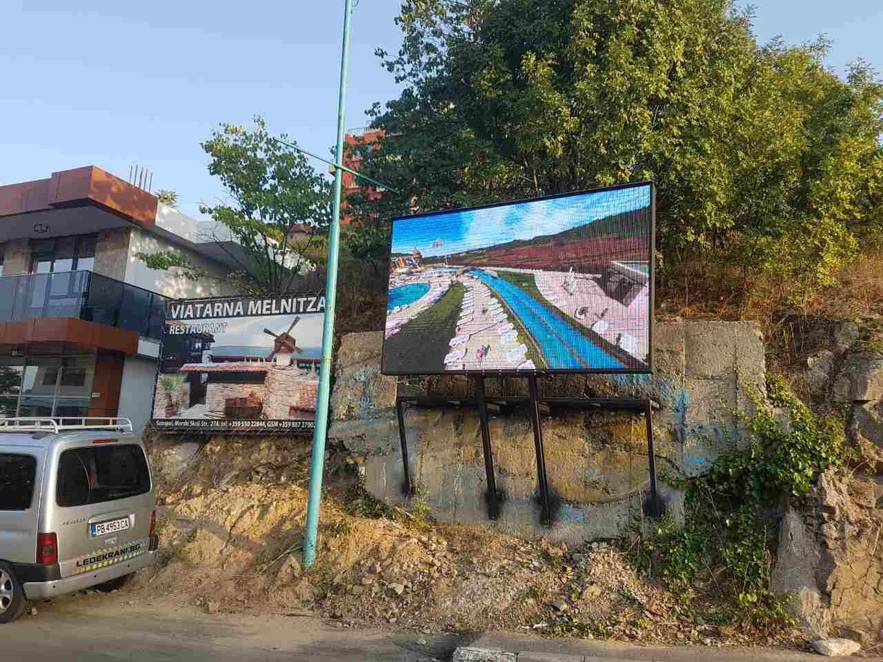 LED билборд Созопол