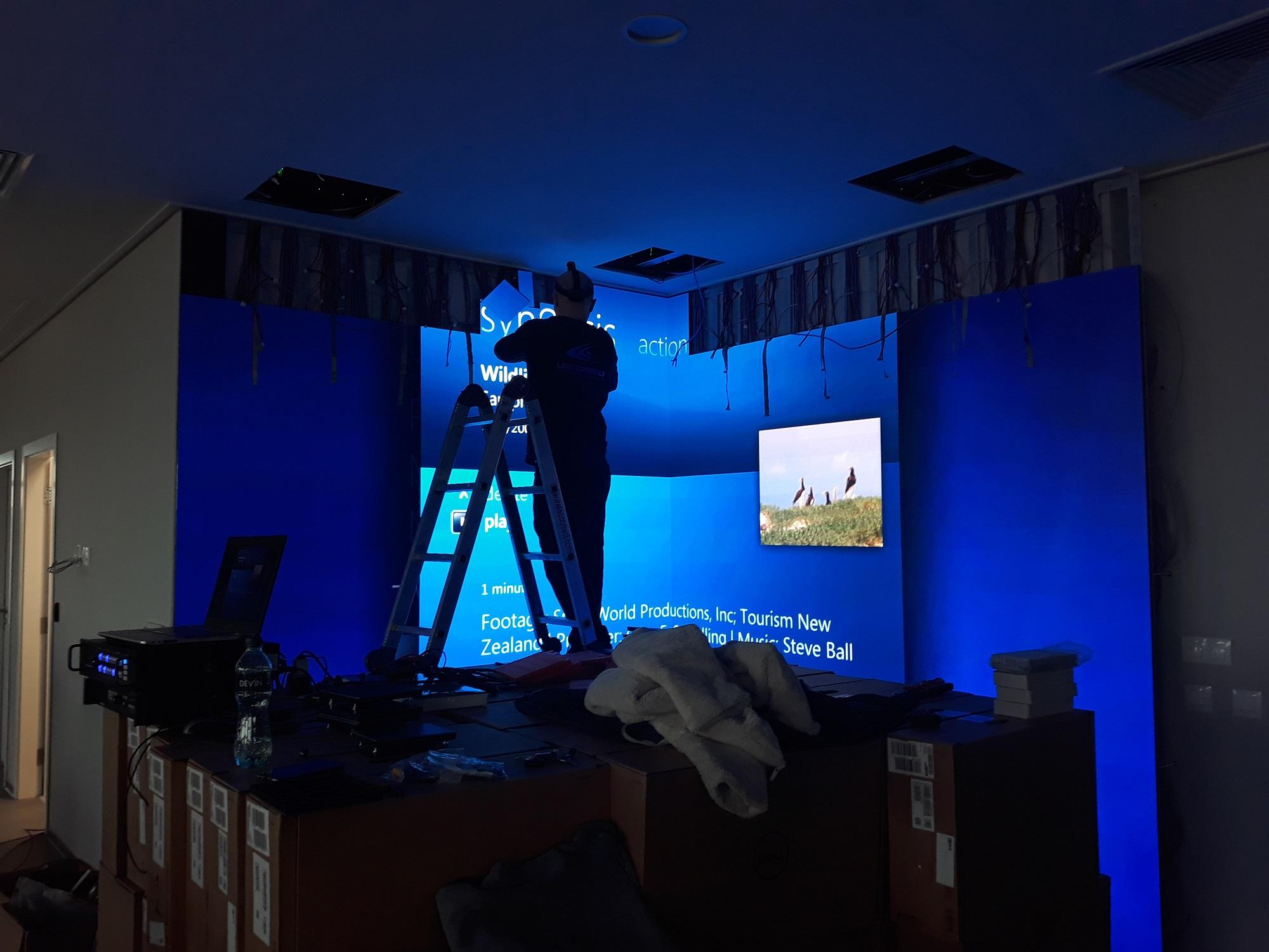 Ъглов LED екран