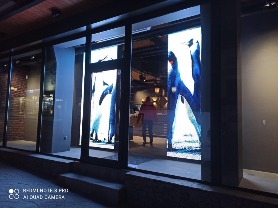 Пълноцветен LED екран Р4 Банско